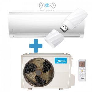 Midea MA-09N8D0-SP Blanc inverteres split klíma – Ajándék WIFI